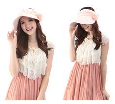 Korean women summer hats