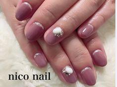 浜松市 中区 自宅ネイルサロン nico nail ニコネイル:シンプルビューティーなネイル
