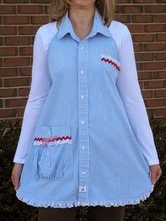 Kocanızın ggömleği eskimiştir veya eskimemiştir de küçük gelmeye başlamıştır. Ya da herhangi bir sebeple giymiyordur. Hemen atmayın, bir ...