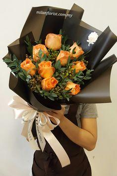 #Rose,#Eucaltytus,#MilanStyle,#milanflorist,#MFMA 米兰花屋 Milan Florist Mount Austin Tel:016-7677027/016-7704487 www.milanflorist.com.my