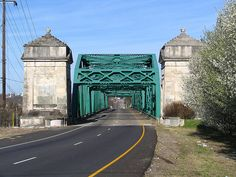 Old Hickory Bridge in Nashville was completed in 1928.