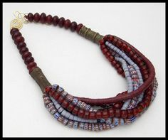 Hey, I found this really awesome Etsy listing at https://www.etsy.com/listing/266012714/8-strand-african-trade-beads-very-old