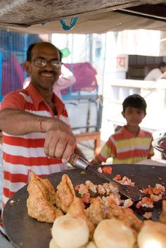 Street Food in India   - Explore the World with Travel Nerd Nici, one Country at a Time. http://TravelNerdNici.com