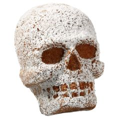 Add just a little sweetness to your spooky Halloween festivities. Bake these mini cakes using the Dimensions 3-D Mini Skull Pan and add confectioners? sugar.