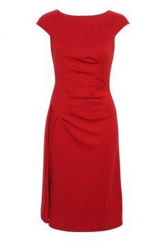 Red dress - very classy
