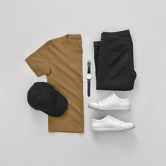 Clothes mens fashion menswear 19 ideas for 2019 Komplette Outfits, Casual Outfits, Men Casual, Fashion Outfits, Fashion Tips, Fashion Trends, Fashion Ideas, Fashion Clothes, Stylish Clothes