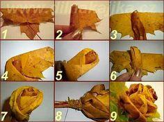Ruza z listov