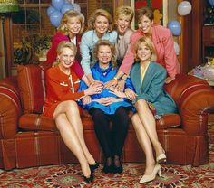 Faith Ford, Faith Daniels, Joan Lunden, Katie Couric, Mary Alice Williams, Candice Bergen, and Paula Zahn -- Faith Ford, Faith Daniels, Joan Lunden, Katie Couric, Mary Alice Williams, Candice Bergen, and Paula Zahn