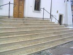 Schody z piaskowca - piaskowiec idelany na schody z kamienia