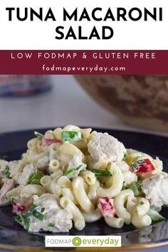 Tuna Macaroni Salad, Tuna Salad, Cooking Tips, Cooking Recipes, Healthy Recipes, Food Map Diet, Fodmap Recipes, Low Fodmap, Ibs
