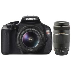 Canon Rebel DSLR With IS and II USM Lens I'm sure at some point, I'll need a camera for school projects. Great to have for personal outings with friends Canon Eos, Camera Shop, Slr Camera, Canon Rebel T3i, Student Picture, Canon Zoom Lens, Digital Slr, Binoculars, Cool Things To Buy