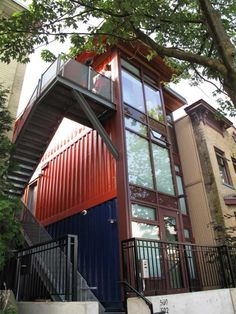 Recycled Shipping Containers Become Homes for the Needy