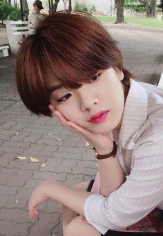 Asian Short Hair, Asian Hair, Girl Short Hair, Hair Inspo, Hair Inspiration, Short Grunge Hair, Lee Joo Young, Tomboy Girl, G Hair