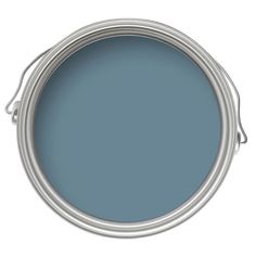 Find Farrow & Ball Estate Oval Room Blue - Matt Emulsion Paint - at Homebase. Visit your local store for the widest range of paint & decorating products. Dulux Paint Colours, Blue Paint Colors, Wall Colors, Dulux Blue Paint, Teal Paint, Neutral Paint, Farrow Ball, Feng Shui, Drawing Room Blue