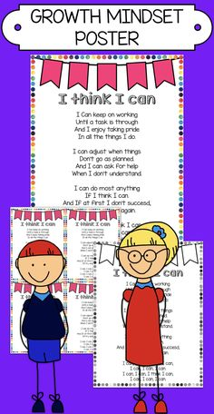 Colourful Growth Mindset Poster for your classroom. Both color and black and white version included as well as a 1/4 page version so your students can work with it indivudally and take it back home. Print poster for durability.