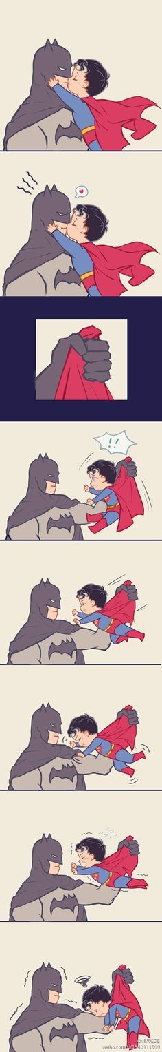 Aw batman just smile Superman X Batman, Batman Robin, Cute Batman, Marvel Dc Comics, Yuri, Superbat, Batman Universe, Batman Family, Dc Heroes