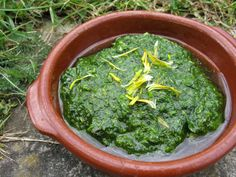 Dandelion pesto recipe. A delicious alternative to traditional pesto making use of the weeds in your garden! Dandelions are super nutritious being high in vitamins A, C & K as well as B vitamins & lots of minerals too. Better still, this is free food! - Foodista.com
