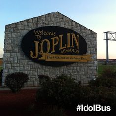 The #IdolBus is now in Joplin, MO. Come sing for us tomorrow at Landreth Park between 8am-4pm via @American Idol