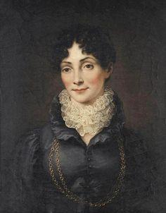 Herzogin Charlotte von Sachsen-Hildburghausen (1764-1818), Gemälde von Carl Vogel, ca. 1815