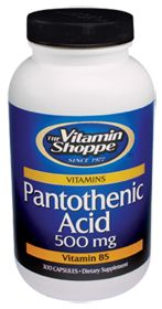 Pantothenic Acid - Buy Pantothenic Acid (500 MG) 300  NOTE: (For adrenal gland tumor) Take a minimum of 100 mg a day of pantothenic acid to keep adrenal glands from wasting or decreasing in size.