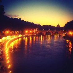 Because of the way Roma glows at night. | 39 Reasons Studying Abroad In Italy Ruins You For Life