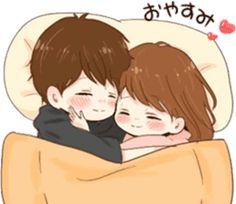 it's love 6 by toco Love Cartoon Couple, Cute Couple Art, Cute Love Cartoons, Anime Love Couple, Cute Anime Couples, Good Night I Love You, I Love You Girl, Cute Love Images, Cute Love Gif