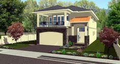 Elevation of Florida   House Plan 90892