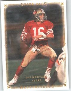 bd6b1be16 2008 Upper Deck   UD Masterpieces  46 Joe Montana - San Francisco 49ers ( Football Cards)