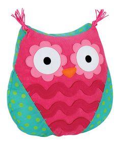 Look what I found on #zulily! Owl Throw Pillow #zulilyfinds