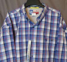 50% off retail! WRANGLER GEORGE STRAIT MGSB1192 MENS SHIRT Western LONG SLEEVE NWT 4X 4XL #wrangler #Western