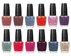 OPI Holland collection Spring 2012