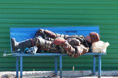 Sleeping Fisherman
