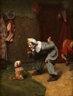 Circus Clown Training Dog - Felix Ehrlich