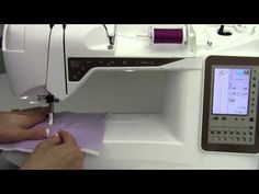 This video is about Husqvarna Viking Topaz 40 48 Hand Look Quilt Stitch