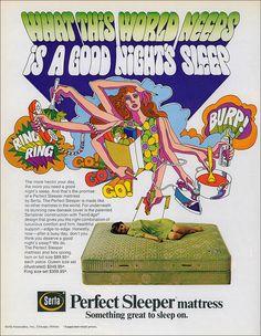 World Needs Sleep, 1970 by MewDeep, via Flickr