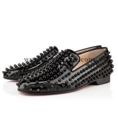 Christian Louboutin Rolling Spikes Black