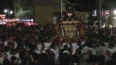 水海道祇園祭 夜の突き合の本社神輿