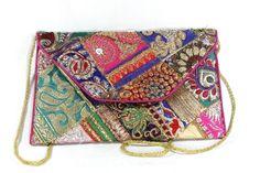 Zari Clutch Bag