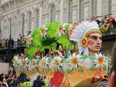 Mardi Gras 2012 Krewe of Rex parade float, New Orleans