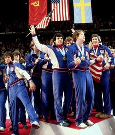Miracle on Ice - 1980 USA Hockey Team