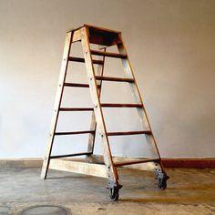 vintage stocking ladder at trohvshop