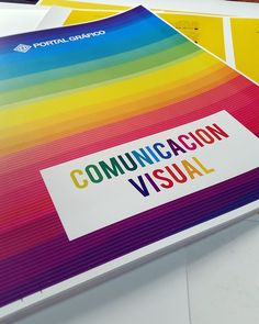 Carpetas Full Color para nuestra sección de Comunicación Visual. A todo color