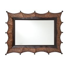 FurnitureMaxx Sherwin Decorative Square Mirror : Wall Mirrors