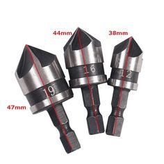 ==> consumer reviews3Pcsset 121619mm Countersink Drill Bits Carbon Steel Chamfering Drill Bit 90 Degree Round 14Shank Wood Cutter Power Tools3Pcsset 121619mm Countersink Drill Bits Carbon Steel Chamfering Drill Bit 90 Degree Round 14Shank Wood Cutter Power ToolsThis is great for...Cleck Hot Deals >>> http://id921386705.cloudns.ditchyourip.com/32717122146.html images