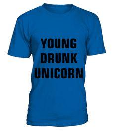 Young Drunk Unicorn 2 TShirt