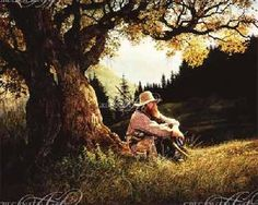 Greg Olsen The Thinking Tree Giclee on Canvas
