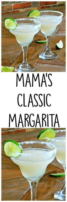 Classic Margarita Recipe with Simple Syrup instructions