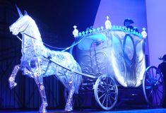 Love Never Dies | Year: 2010 Designer: Bob Cowley Venue: Adelphi Theatre  lighting for carriage