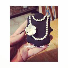 My cookie creation today #cookiecreation #cookies #breakfastattiffanyscookies #vintagecookies #decoratedcookies