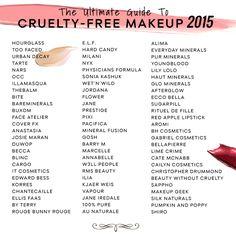 101 Cruelty-Free And Vegan Makeup Brands (2017 Update)   More ...